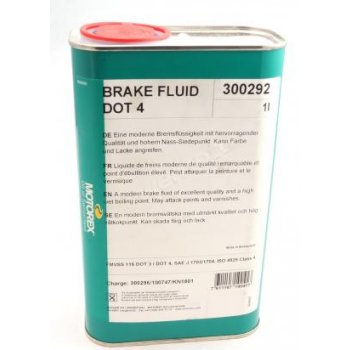 MOTOREX Brake Fluid Dot 4, 1 l