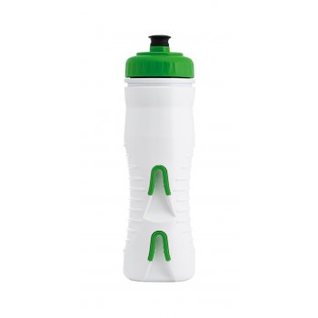 FABRIC LÁHEV 600ml INTERNALLY INSULATED WHITE/GREEN CAP (FP5307U4360)