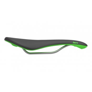 FABRIC SEDLO SCOOP ELITE SHALLOW BLACK/GREEN (FU4500SE04)