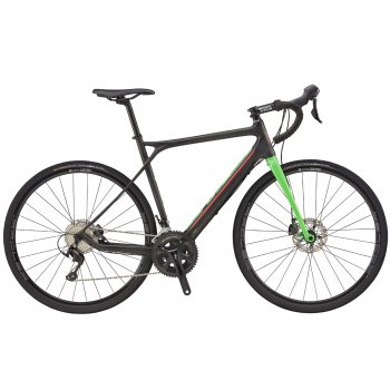 GT GRADE CARBON 105, RAW/NEON GREEN