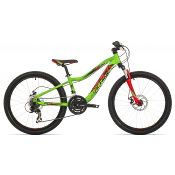 "ROCK MACHINE 24"" Storm neon green/red/black"