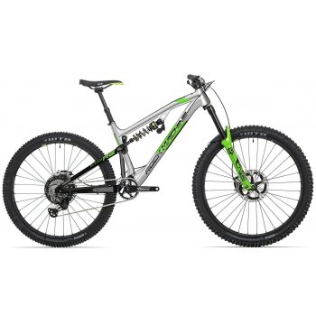 "ROCK MACHINE Blizzard 90-297 RZ gloss silver/black/DVO green 29""/27,5""(mullet)"