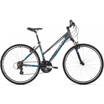 ROCK MACHINE CrossRide 100 lady anthracite/white/blue