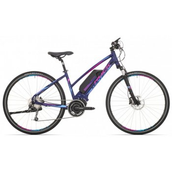 ROCK MACHINE Ebike CrossRide e500 lady deep blue/pink/blue