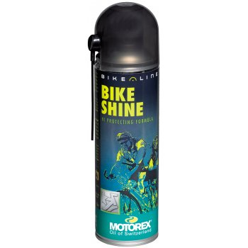 MOTOREX Bike Shine sprej, 500 ml