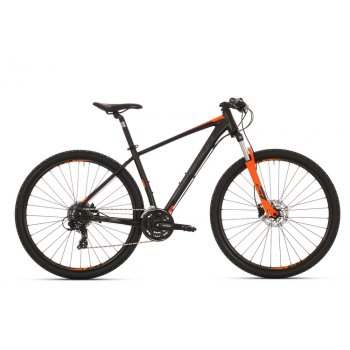 SUPERIOR XC 859 matte black/neon orange/dark grey mod.017